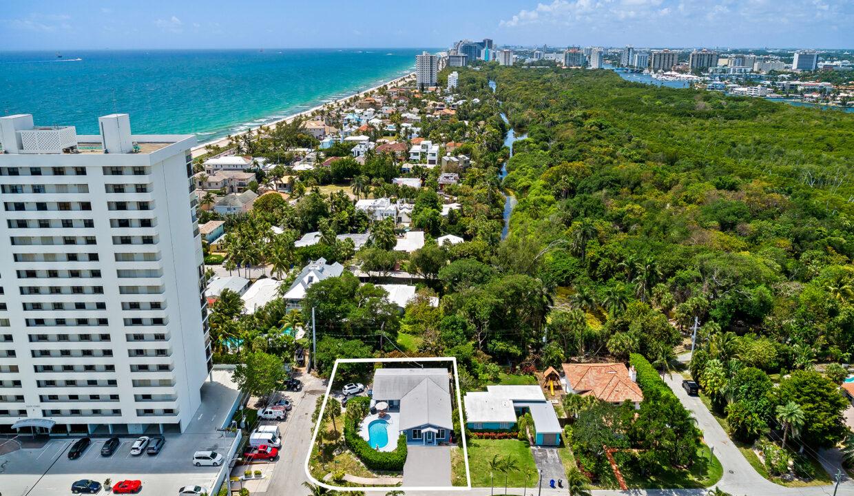 Aerial 1890 NE 33rd Ave Fort Lauderdale, FL-13