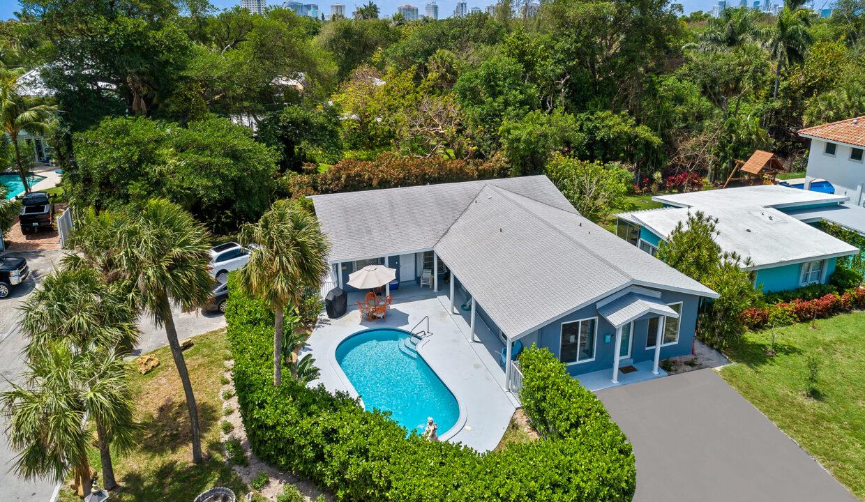 Aerial 1890 NE 33rd Ave Fort Lauderdale, FL-22