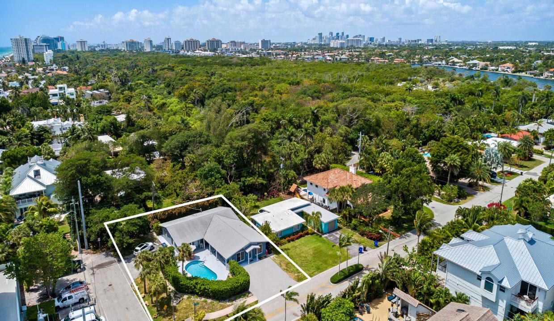 Aerial 1890 NE 33rd Ave Fort Lauderdale, FL-7